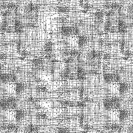 White Dotty Grid