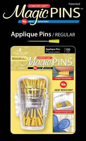 Magic Pins Applique Regular 100pc