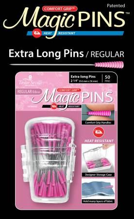 Magic Pins Extra Long Regular 50pc
