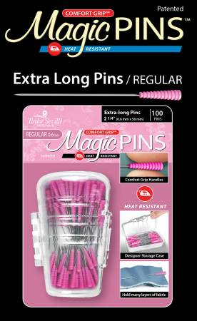 Magic Pins Extra Long 2 1/4
