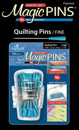 Magic Pins Quilting Fine 1 3/4 100ct