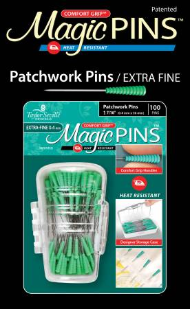 Magic Pins Patchwork Extra Fine 100pc