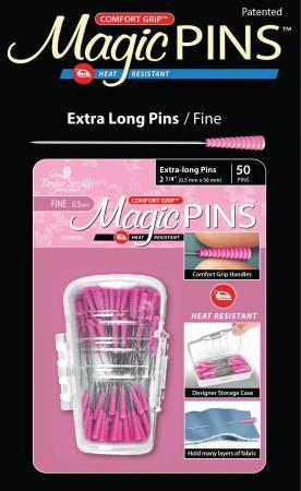 Ntn Magic Pins xtra Lng Fine 50pc