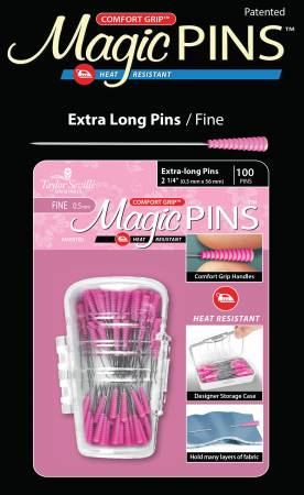 Magic Pins - Extra Long, Fine 100pc - by Taylor Seville