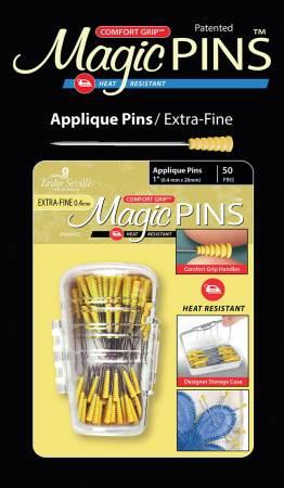 Magic Pins Applique EXTRA FINE 50pc
