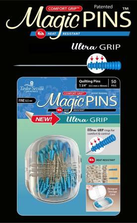 Magic Pin Ultra Grip Quilting FINE 50pc
