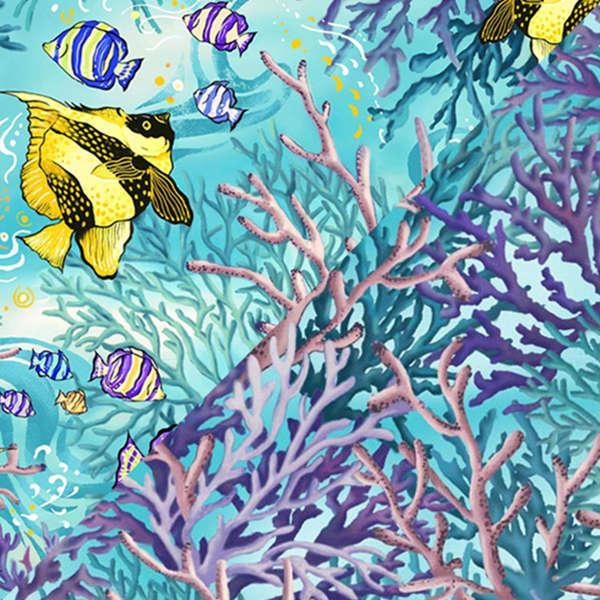 Aqua Coral Sea 120-7901