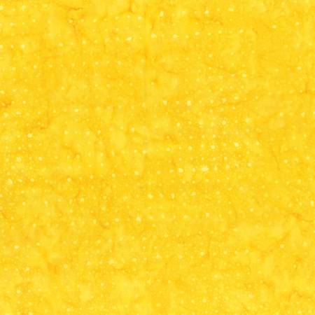 *Batavian Yellow Mini Dot Batik