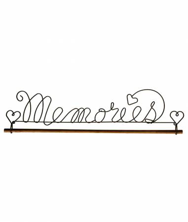 16in Memories Fabric Holder