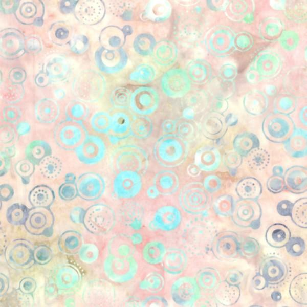 22083 347 Creole Pink Raindrops Batik for Wilmington Batiks