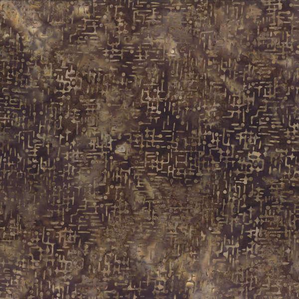 Dark Brown Pins & Needles Batik - 22095-226