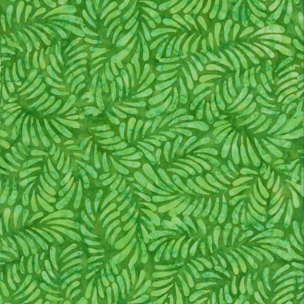 BATIK FEATHERS BRIGHT GREEN 22098775 Batavian Batiks