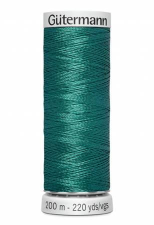Col.8220 Dekor Embroidery Thread 200m/218yds Dark Peacock