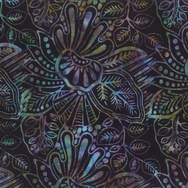 Wilmington Prints Batik Bl/Teal/Sand