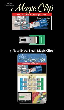 Magic Clip Extra Small 6pc