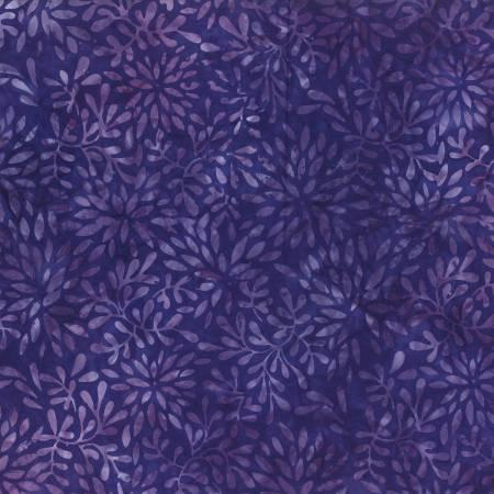 2595 Purple Packed Petals Batik
