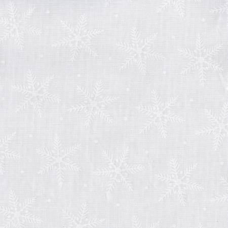 White White on White Snowflakes