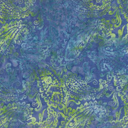 Blue Delicate Paisley Batik<br>22201-475