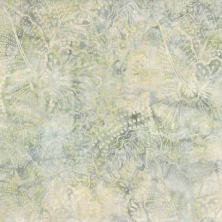 Light Grey Tropical Mix Batik<br>22203-291