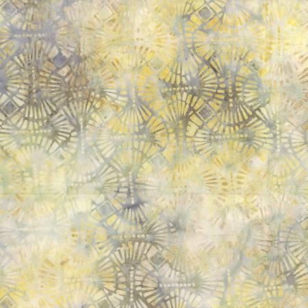 Wilmington Prints Tan/Orange Pins & Needles Batik