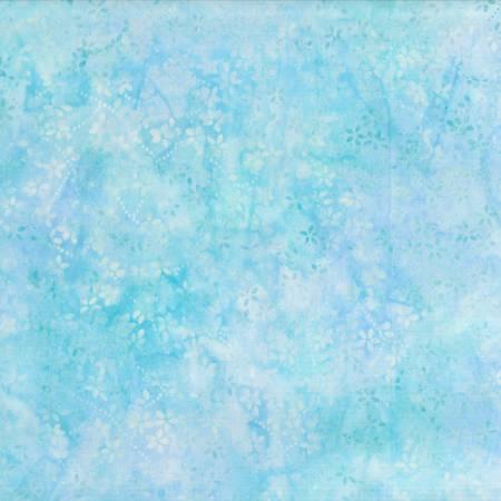 Blue/Green Petite Floral Batik