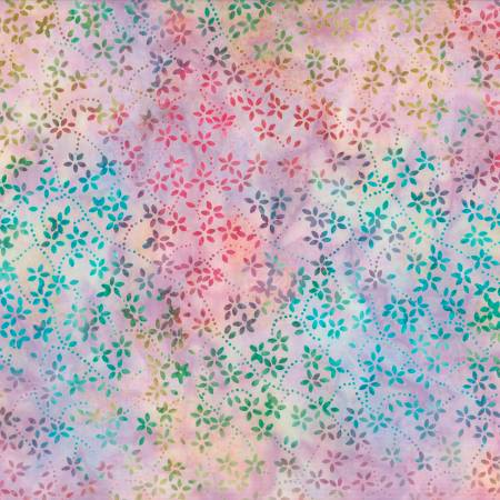 Star Links by Wilmington Prints-22234-653-Purple Petite Floral Batik