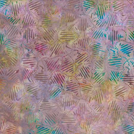Star Links by Wilmington Prints-22236-647-Purple/Multi Striped Patchwork Batik