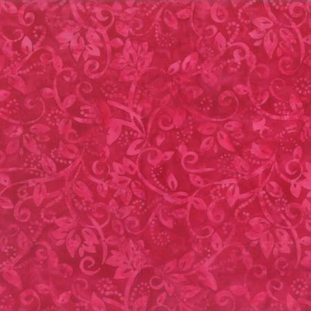 Pinking Shears Hot Pink Leafy Scroll 22238-336