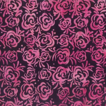 Pinking Shears Black/Pink Roses 22241-936