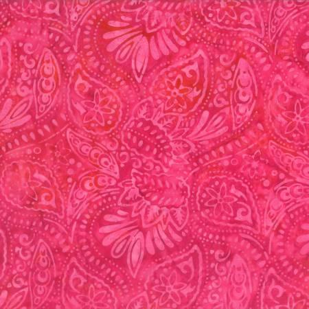 Pink Packed Paisley Batik