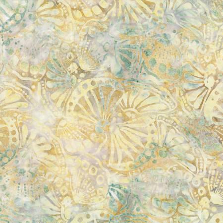 Wilm Batik 22245-957 Light Grey Butterfly Wings Batik