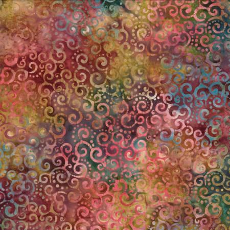 Multi Crescent Swirls Batik