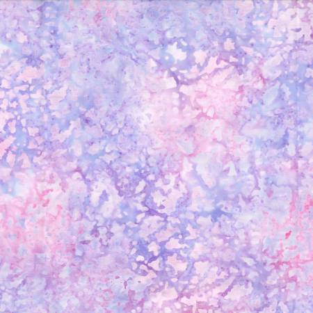 Purple Water Spots Batik