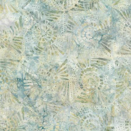 WP 22261-179 Cream Quilt Blocks Batik