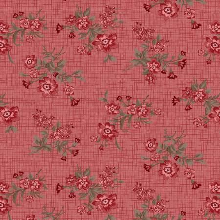 Pink Vintage Floral Toss