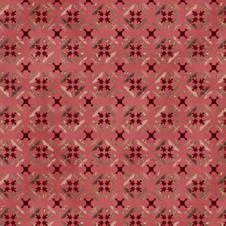 Pink Tile Flowers
