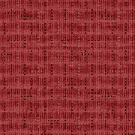 Tickled Pink Red Dot Weave
