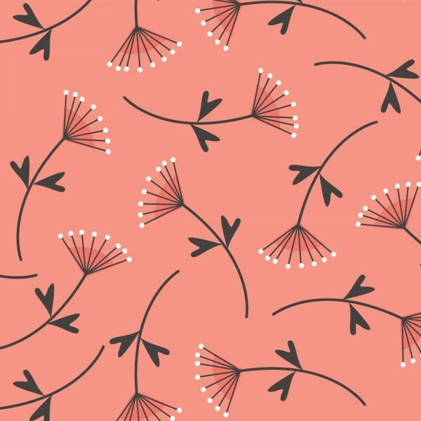 Fabric Grapefruit Mimosa Double Gauze