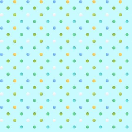 Sweet Tweet and Bunny Dots Aqua
