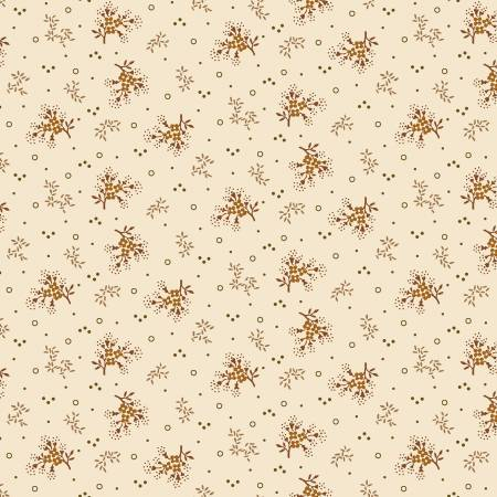 Buttermilk Autumn - Cream Mini Floral