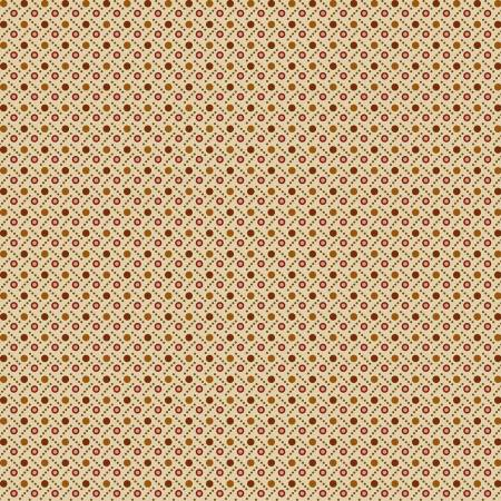 Henry Glass Buttermilk Autumn 2276-33 Cream Dot Weave