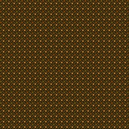Buttermilk Autumn Green Dot Weave