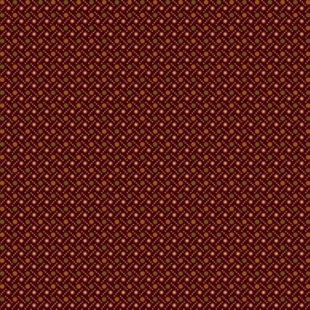 Buttermilk Autumn - Red Dot Weave