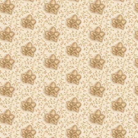 Henry Glass Buttermilk Autumn 2277-33 Cream Acorns