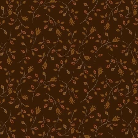 Buttermilk Autumn Brown Bud Vines 2278 38