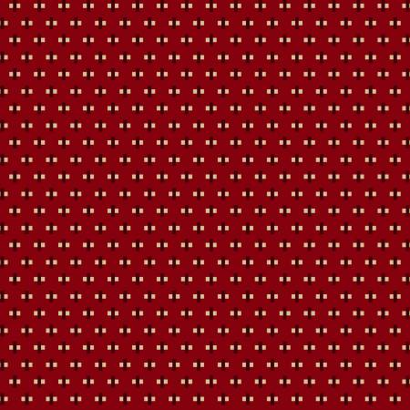 Henry Glass Buttermilk Winter Red Mini Cross