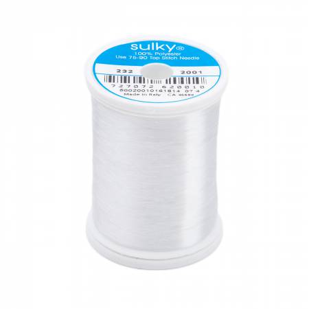 Invisible Polyester Thread .004mm 2200yds Clear