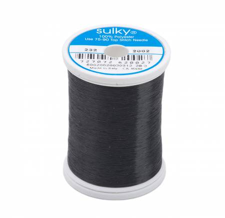 Sulky Invisible Polyester Thread .004mm 2200yds Smoke