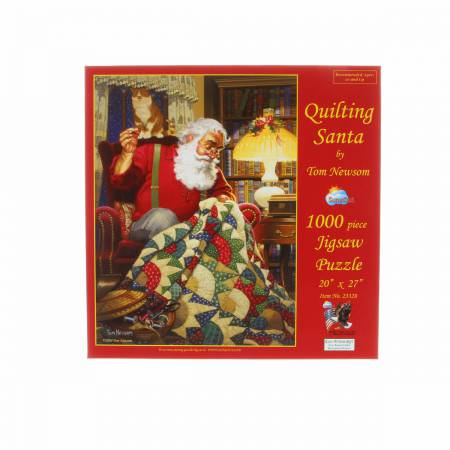 Quilting Santa 1000pc