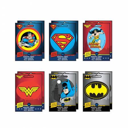 DC Comics - Adhesive Fabric 3in Badge